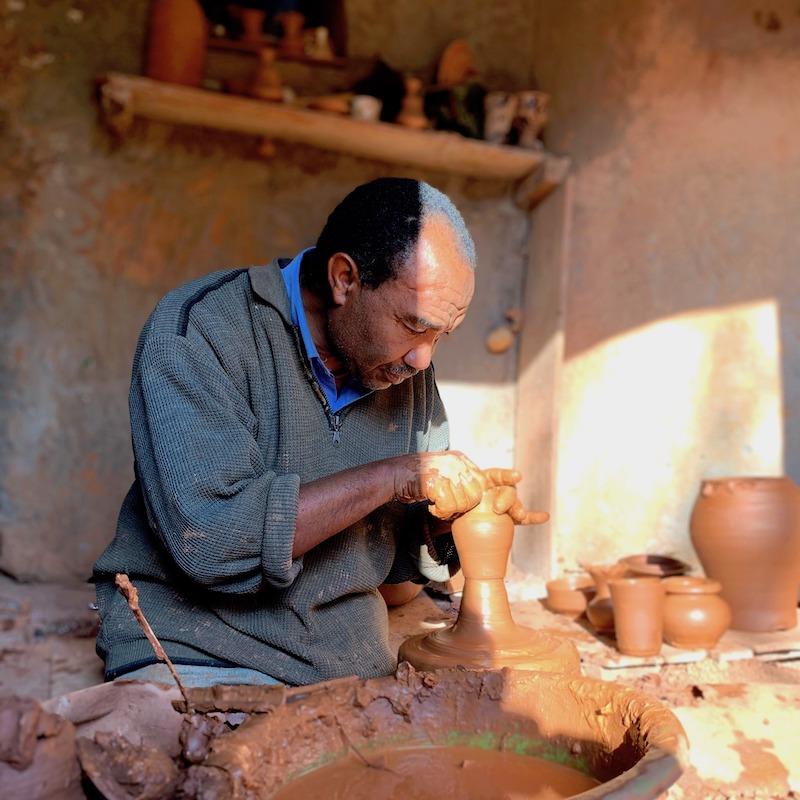 Artisan Chineurs du monde, Safi Maroc
