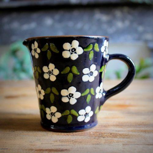 Pot à lait Corund _Flora_ blanc 2