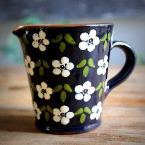 Pot à lait Corund _Flora_ blanc 5